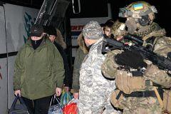 Обмен военнопленными в Донецке