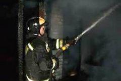 Пожар в доме престарелых удалось потушить за час