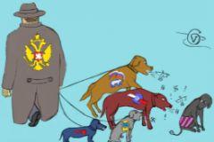 """Карикатура - Георгий Вальд, """"Собеседник.ру"""""""