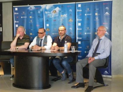 Руководство компании  «Ambotis» на пресс-конференции