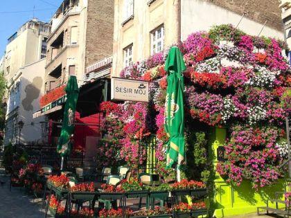 Улица Скадарлия в Белграде славится отличными ресторанами