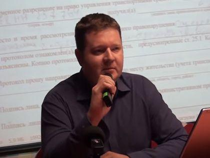 Юрист Петр Артемов