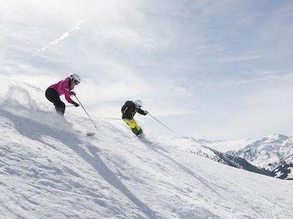 Сезон катания в Тирольских Альпах – с декабря по апрель
