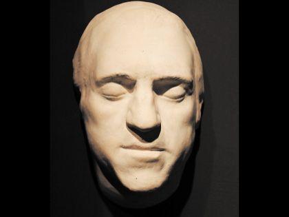 Посмертная маска Высоцкого