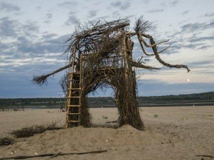 Тайбольцы создают потрясающие по красоте арт-объекты из всего, что попадется под руку на берегу Белого моря
