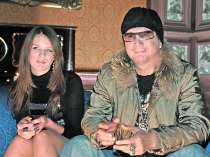 Андрей Ковалев с дочерью