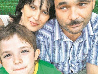 Ирина Ларионова и её семья