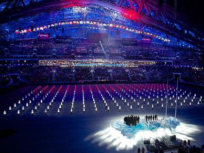 Открытие зимних Олимпийских игр 2014 в Сочи