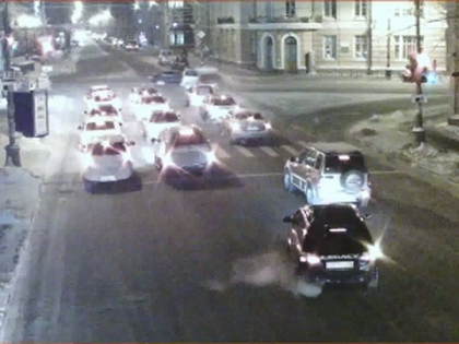 Полиция просит автолюбителей быть бдительными в зимний период