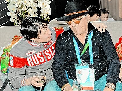 Любовь Егорова и Александр Тихонов