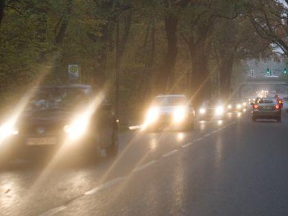 Мигание фарами на дороге