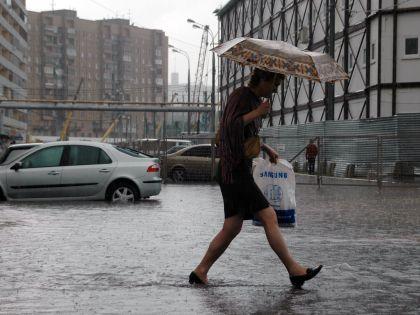 В Центральной России установилась дождливая погода