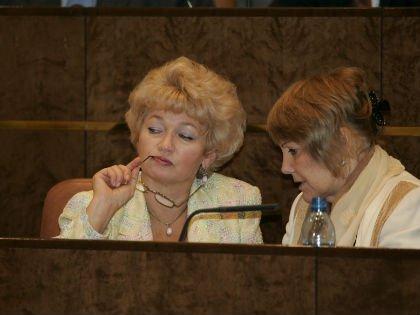 Людмила Нарусова в Совете Федерации