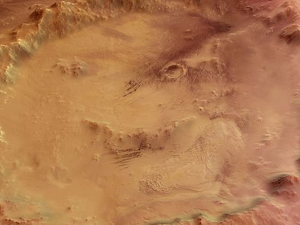 Подземные воды могли играть решающую роль на Марсе