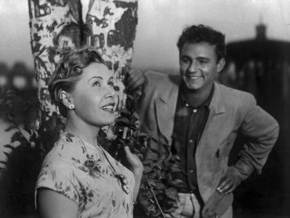 Инна Макарова и Николай Рыбников в фильме «Высота» (1957)