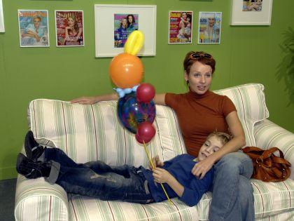 С младшим сыном Ефимом