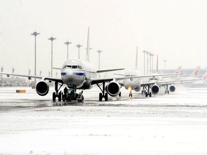 Задержка рейсов в московских аэропортах