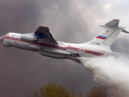 Ил-76 потерпел крушение в Иркутской области