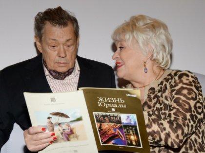 Николай Петрович с женой Людмилой Поргиной