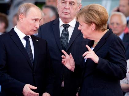 Меркель назвала причину посещения Москвы
