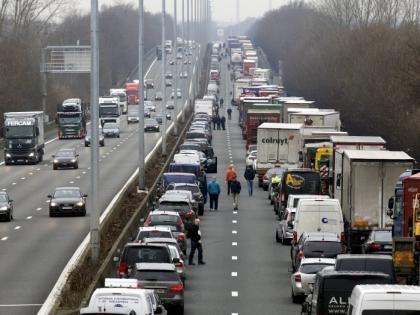 Российско-польскую границу перекрыли из-за ДТП