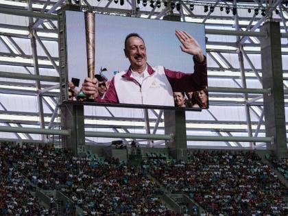 Президент Азербайджана приветствует Европейские игры в Баку