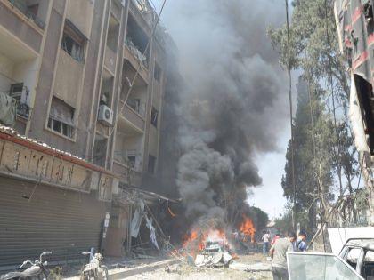 30 сентября по просьбе Башара Асада российские ВВС начали обстрел позиций ИГИЛ в Сирии