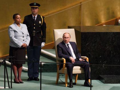 Владимир Путин в ООН