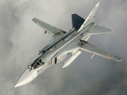 Министерство обороны РФ опровергло факт нарушения воздушных границ Турции Су-24 (на фото), потерпевшим крушение