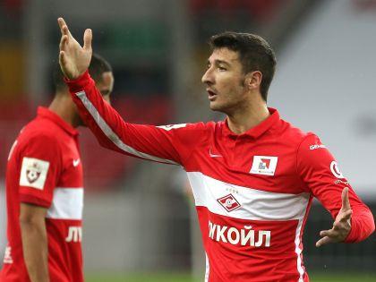 Футболисты «Спартака»