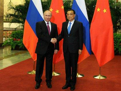 Владимир Путин и Ли Кэцян