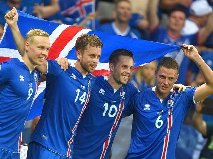 Сборная Исландии по футболу сенсационно вышла в 1/4 финала Чемпионата Европы, выбив с турнира англичан
