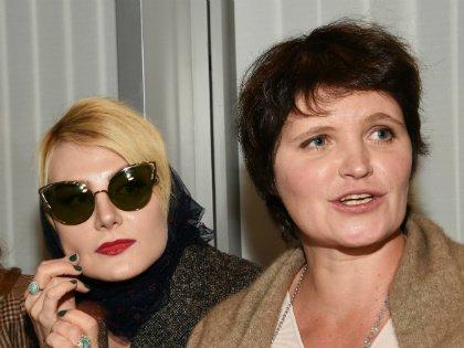 Рената Литвинова и Авдотья Смирнова