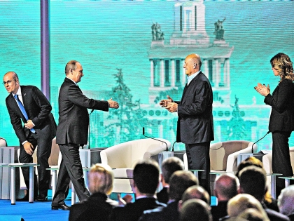 Путин и Говорухин