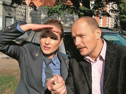 Нина Гогаева в сериале «Меч»