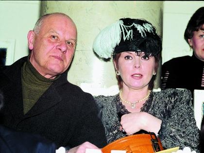 Клара Новикова со вторым мужем