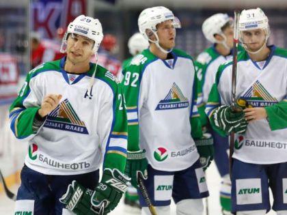 Хоккеисты команды «Салават Юлаев»: всего 3 набранных очка в 6 матчах