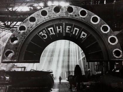Иван Шагин. На Ленинградском металлическом заводе. 1930-е гг.