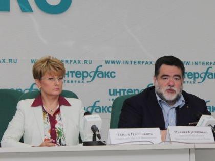 Михаил Куснирович и Ольга Плешакова