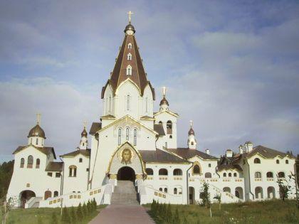 Храмовый комплекс Свято-Владимирского скита Валаамского монастыря во всей красе