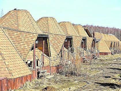 В деревне Петрово