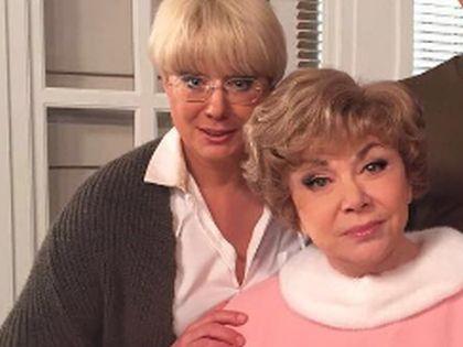Эдита Пьеха с дочерью Илоной Броневицкой