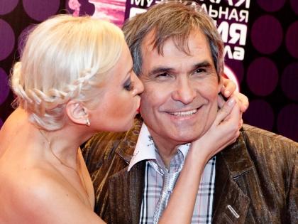 Бари Алибасов с женой Лилианой