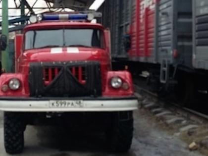 Столкновение поезда и локомотива произошло 9 апреля