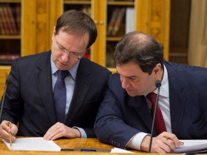 Владимир Мединский и Григорий Пирумов