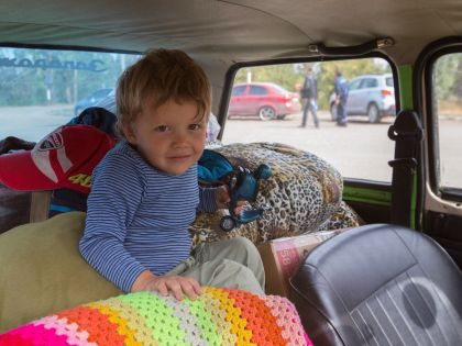 Ребенок в автомобиле