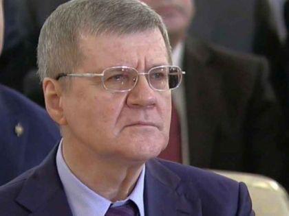 Лицо Чайки показали крупным планом, когда Путин заговорил о коррупции