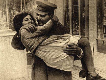 Иосиф Сталин и Светлана Аллилуева