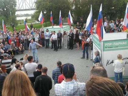 В центре внимания — Сергей Бойко, предприниматель и один из победителей новосибирских праймериз