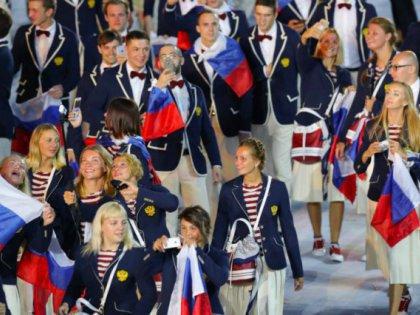 Российская сборная на Олимпиаде